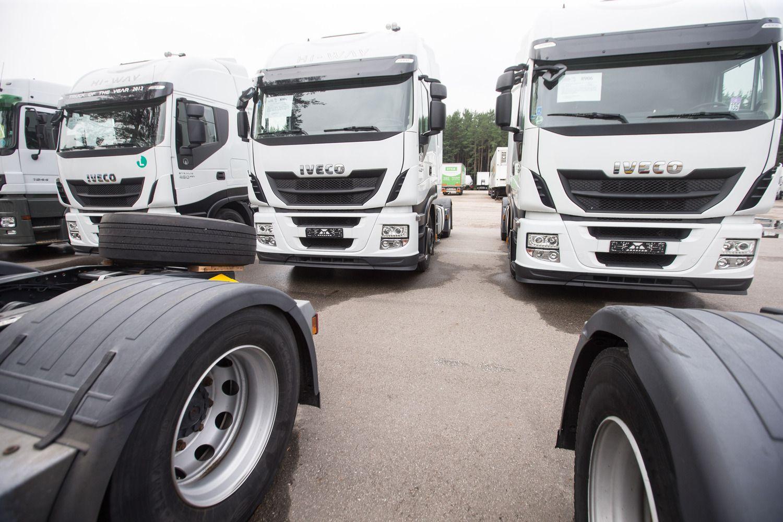 Ukrainai skirti 5.000 transporto leidimų