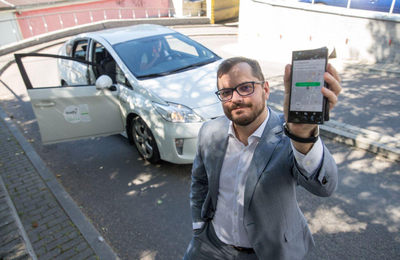 """""""Taxify"""" kainų karą finansuoja kinų milžinės pinigais, o taksi neturi lėšų atsakyti"""