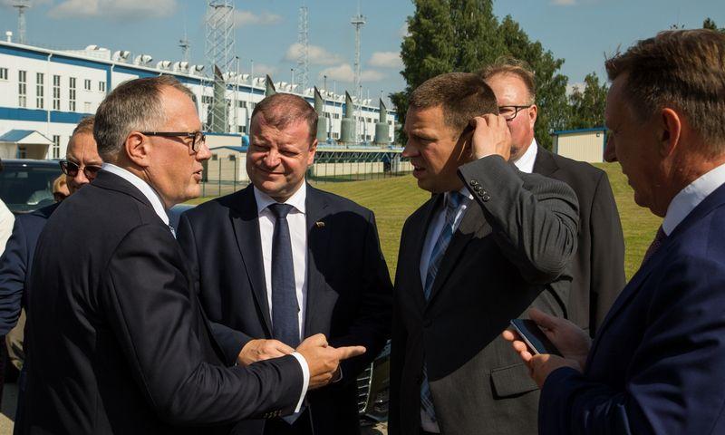 Baltijos šalių premjerų susitikimas Inčukalnyje, Latvijoje. Vyriausybės nuotr.