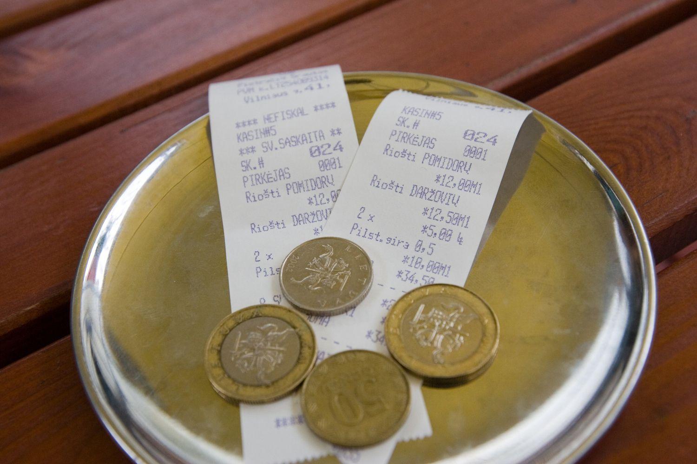 VŽ paaiškina: kaip apmokestinami arbatpinigiai