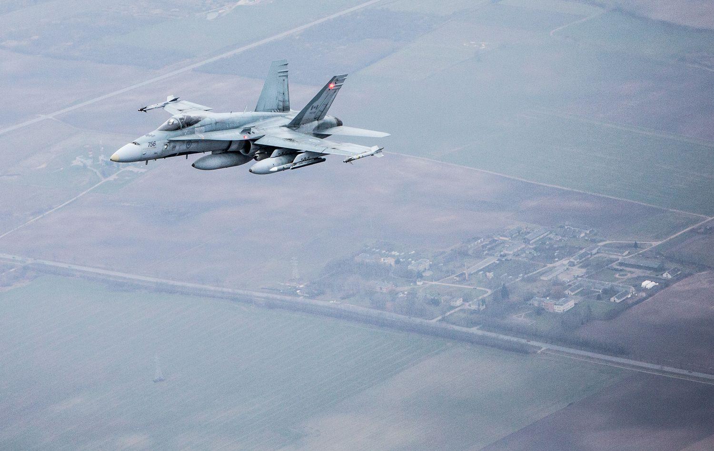 NATO naikintuvai Rusijos orlaivius palydėjo 8 kartus