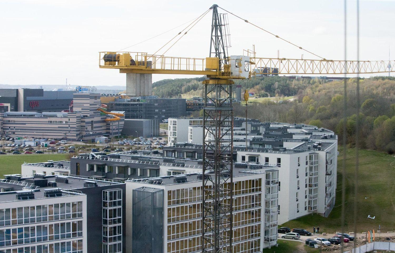 Daugiabučiuose pastatė trečdaliu mažiau butų nei pernai