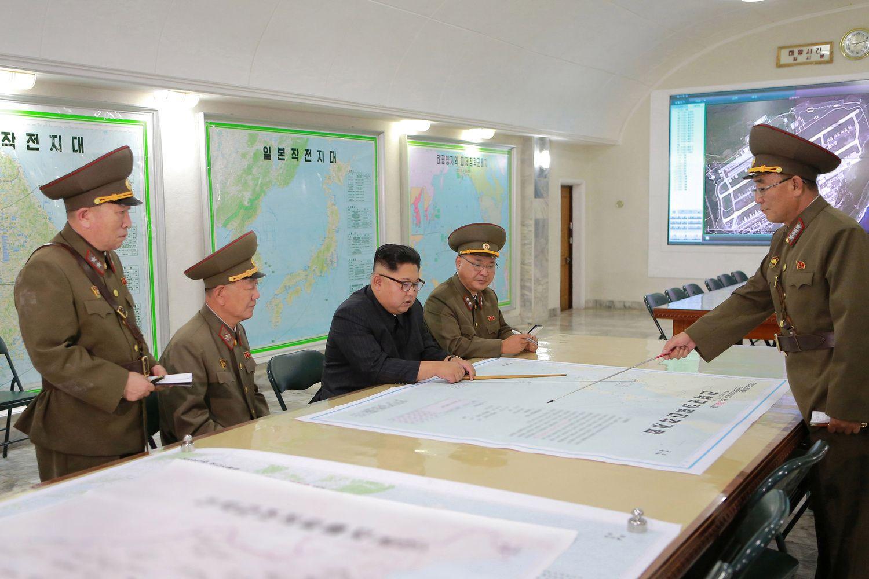 Šiaurės Korėja neatsisako planų link Guamo salos paleisti raketas