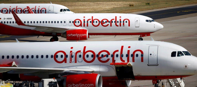 """Bankrutuojančią """"Air Berlin""""išsidalys konkurentai"""