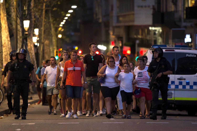 Per teroro išpuolį Barselonoje žuvo 13 žmonių,dar 80 sužeista