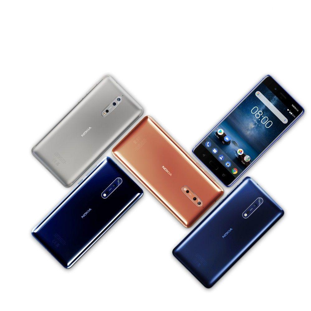 "Pristatytas flagmanas ""Nokia 8"""