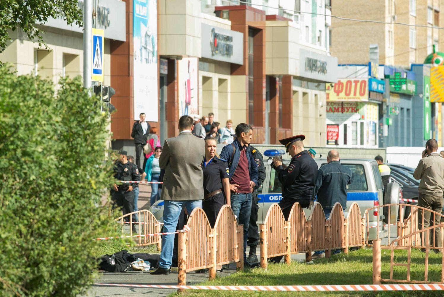 Islamo valstybė prisiėmė atsakomybę už ginkluotą užpuolimą Rusijoje