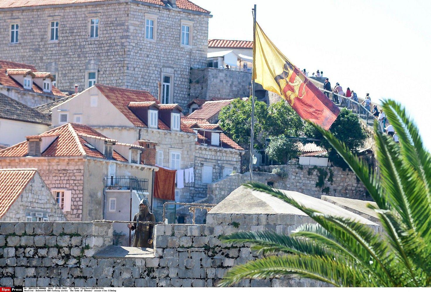 Dubrovnikas apribos į miestą užsukančių kruizinių laivų skaičių