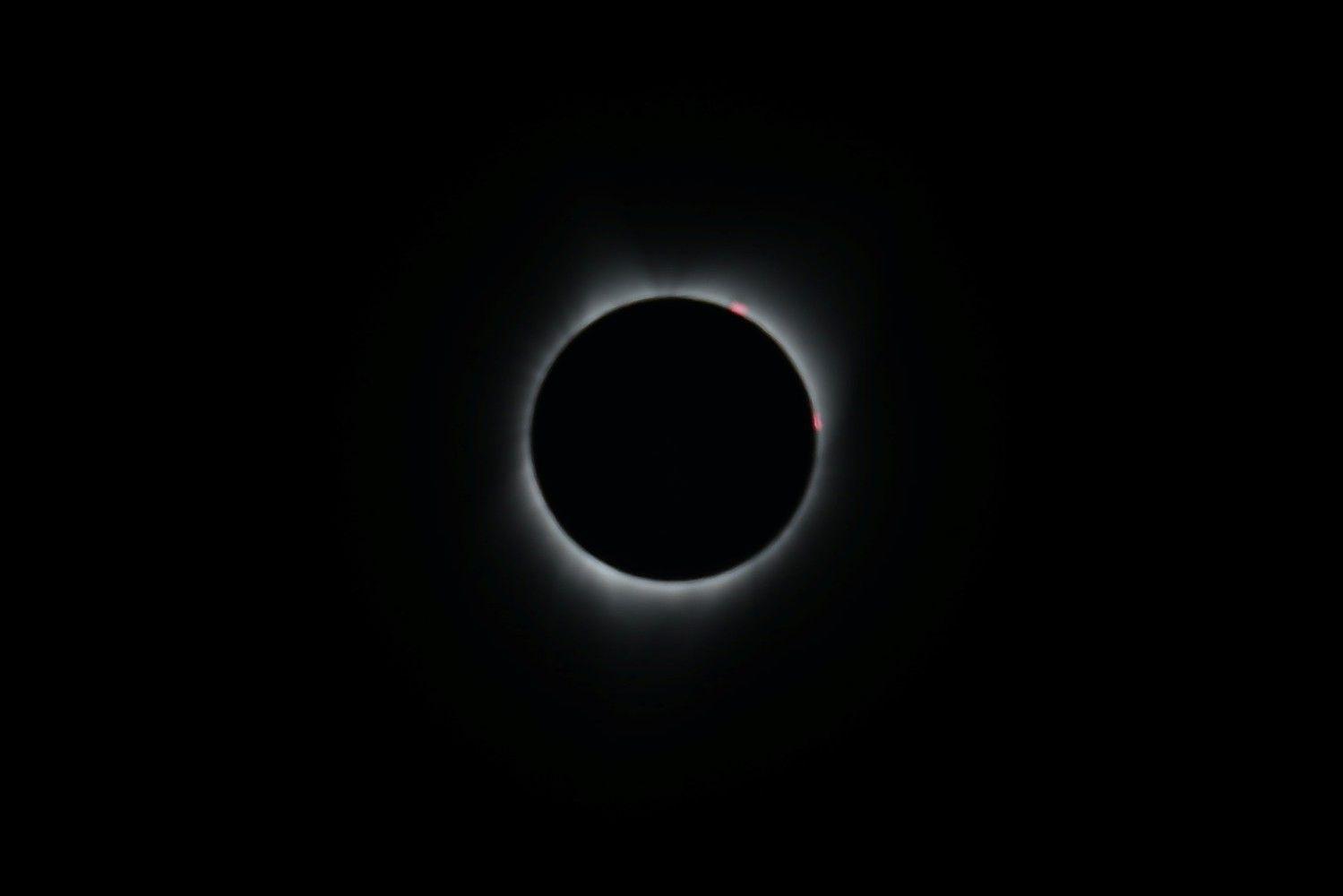 JAV gyventojai stebėjo visišką Saulės užtemimą
