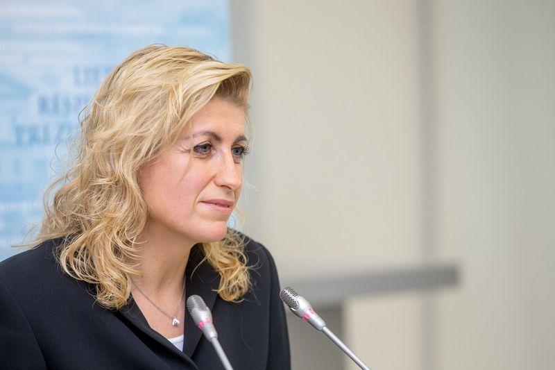 Kultūros ministrė Liana Ruokyte-Jonsson. Vladimiro Ivanovo (VŽ) nuotr.
