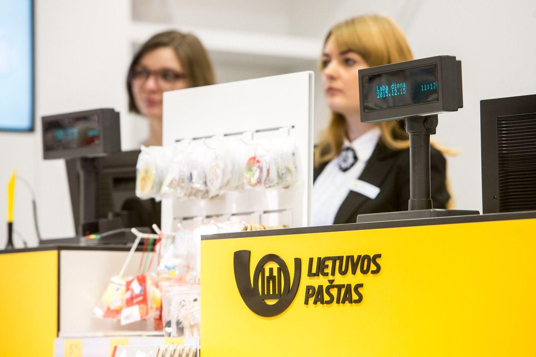 Lietuvos pašto nuostolis padidėjo 6,5 karto