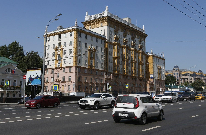 Atsakydama į diplomatų išvarymą, JAVstabdo vizų išdavimą Rusijoje