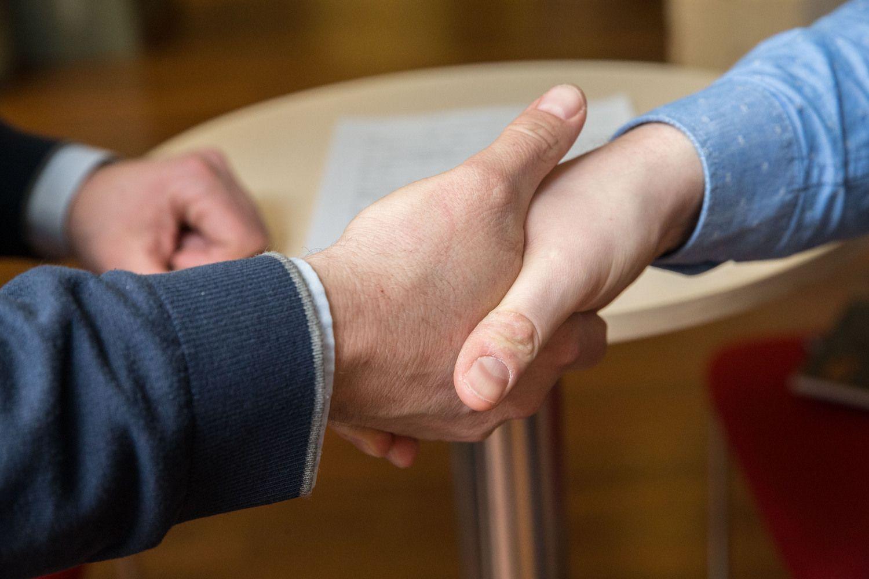 Susitarimų su VMI langelis priveriamas