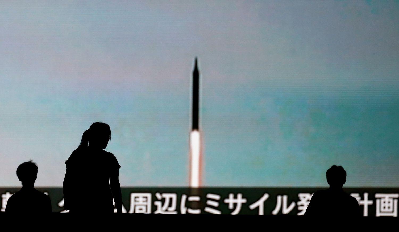 JAV sakcijas už Šiaurės Korėjos veiksmus nukreipėį subjektus Kinijoje ir Rusijoje