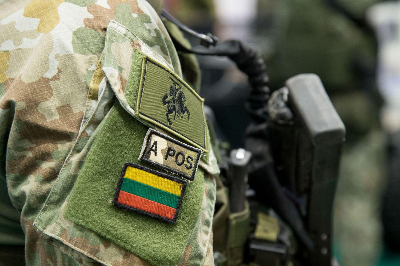 Siūlo didinti į tarptautines operacijas siunčiamų karių kvotą