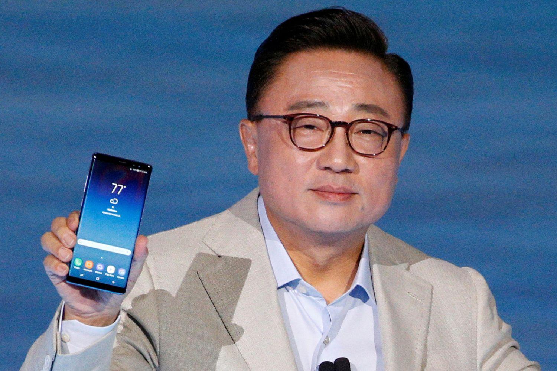 """Samsung"" pristatė ""Galaxy Note 8"""