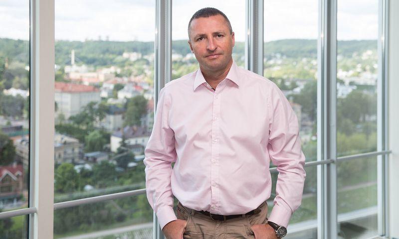 """Rimvydas Jogėla, UAB """"PricewaterhouseCoopers"""" vadovaujantysis partneris. Vladimiro Ivanovo (VŽ) nuotr."""