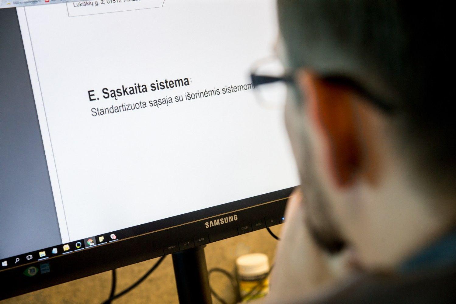 """Atpigo dokumentų teikimas per sistemą """"E. sąskaita"""""""