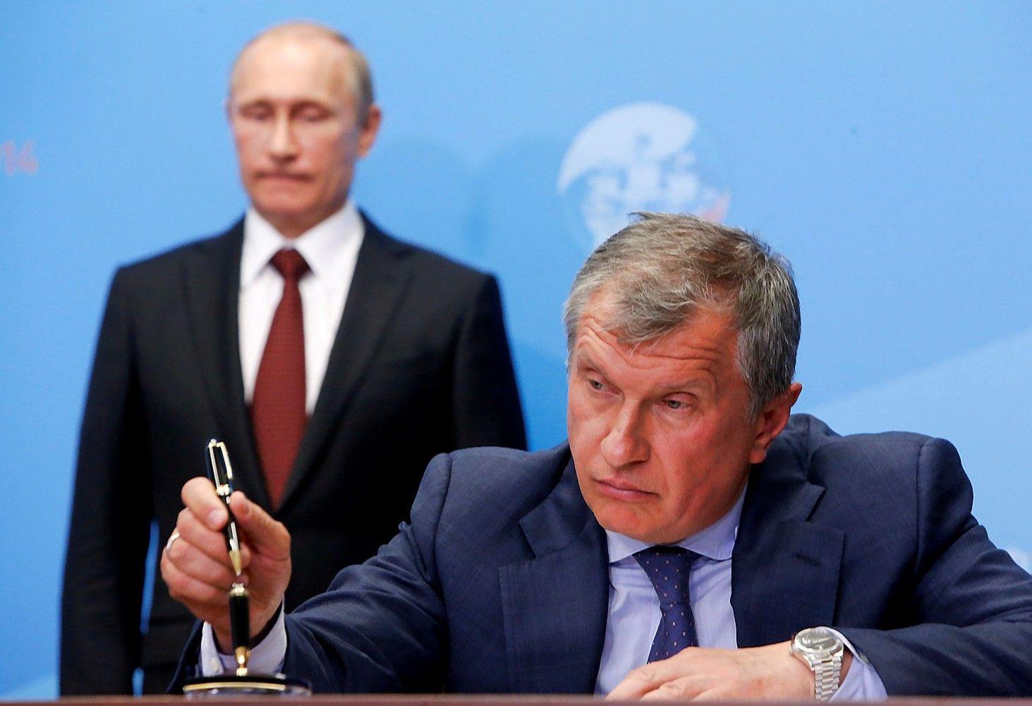 """""""Rosneft"""" – milijardai byloje, kurijau lyginama su""""Yukos"""" istorija"""