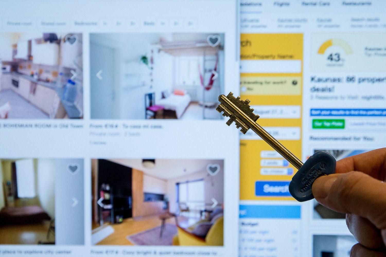 """Butas nuomoti: kaip per """"Booking.com"""" ar """"Airbnb"""" uždirbti iki 15%"""