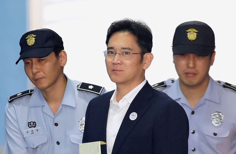 """Vienam iš """"Samsung"""" vadovų – 5 metai kalėjimo"""