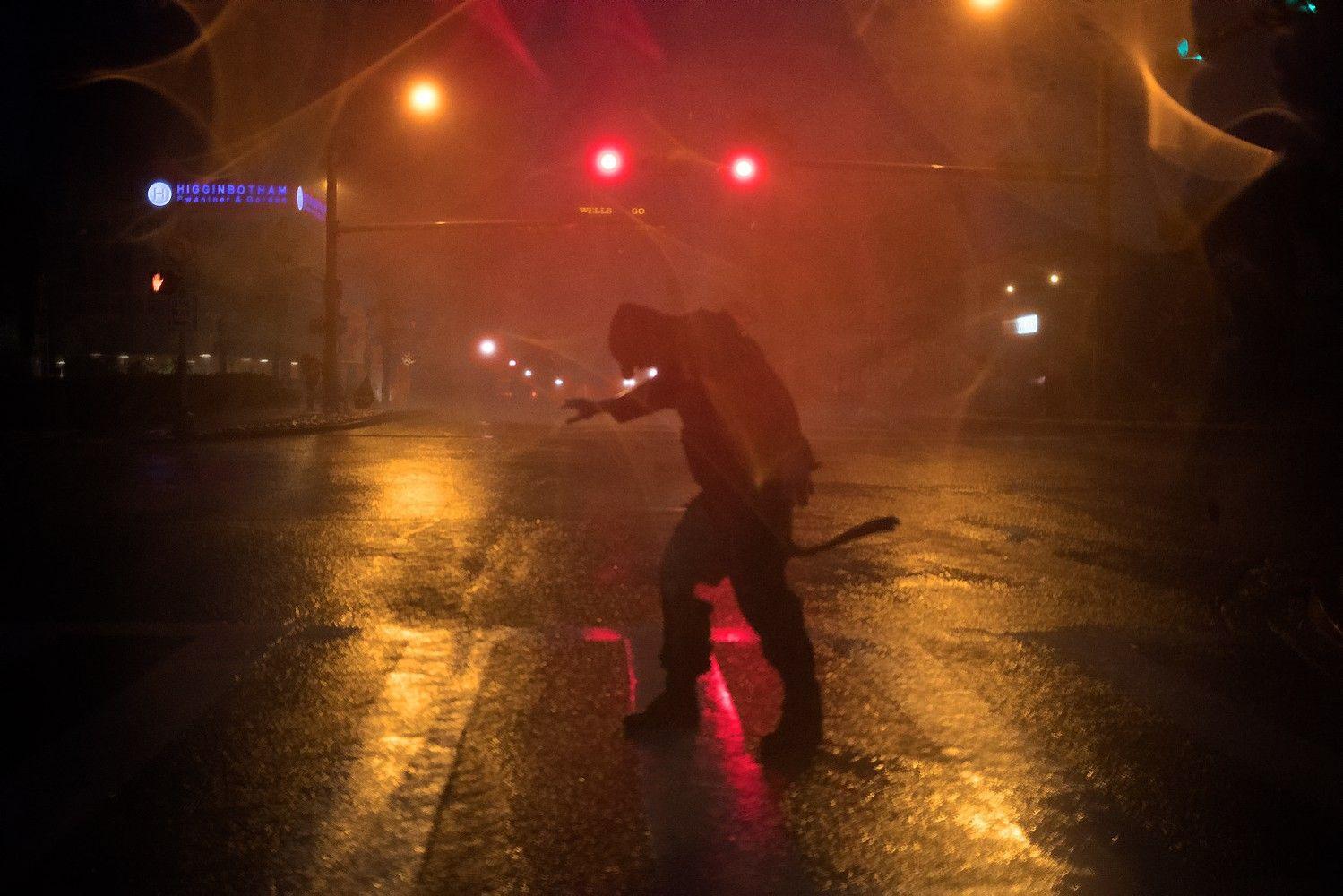 Teksasą siaubia uraganas Harvey