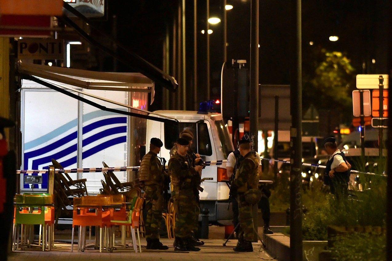 Briuselyje nušautas vyras, puolęs kareivius su mačete
