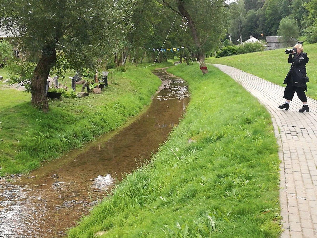 Keliaujame po Suvalkiją: upė – gatvė Plokščiuose