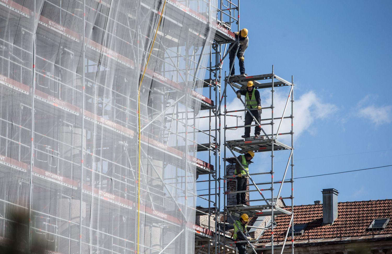 Statybos sektoriaus lyderiai: krentančioje rinkoje sugebėjo rasti užsakymų ir uždirbti
