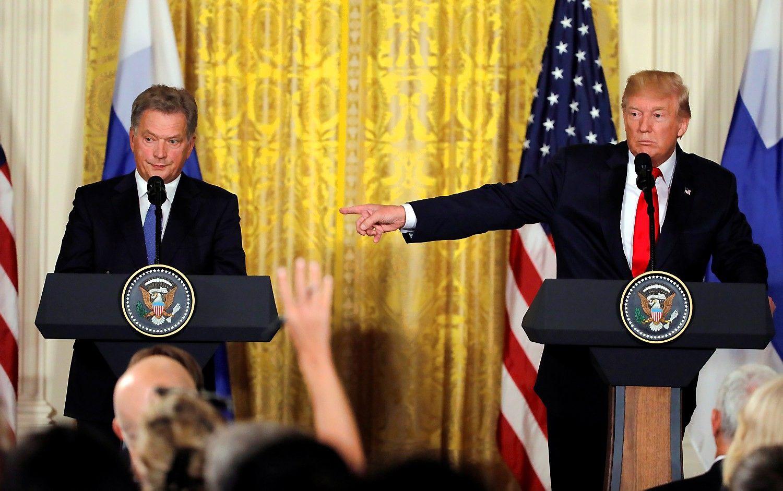 Trumpas: JAV labai saugo Baltijos šalis