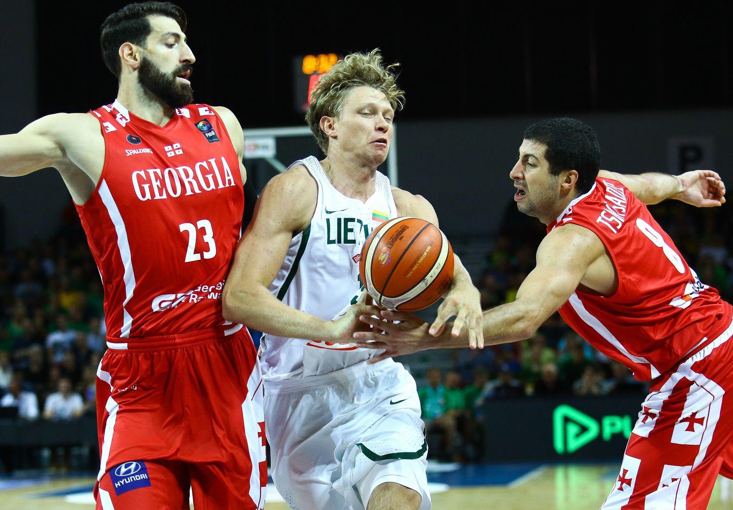 Lietuviai čempionatą pradeda Izraelyje, pirmas varžovas – Gruzija