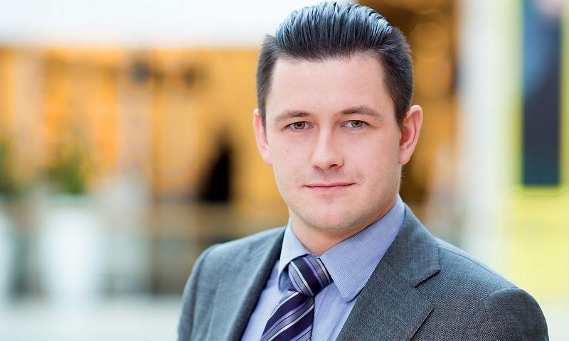 """Advokatų proefesinės bendrijos """"iLAW"""" asocijuotas partneris, advokatas Mantas Mikalopas."""