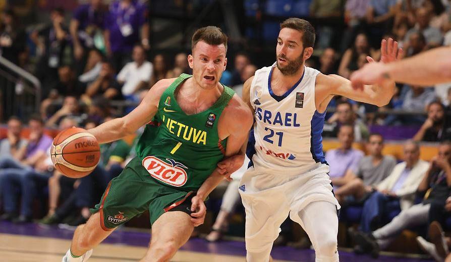 Lietuvos rinktinė, nugalėjusi Izraelio komandą, iškovojo pirmąją pergalę