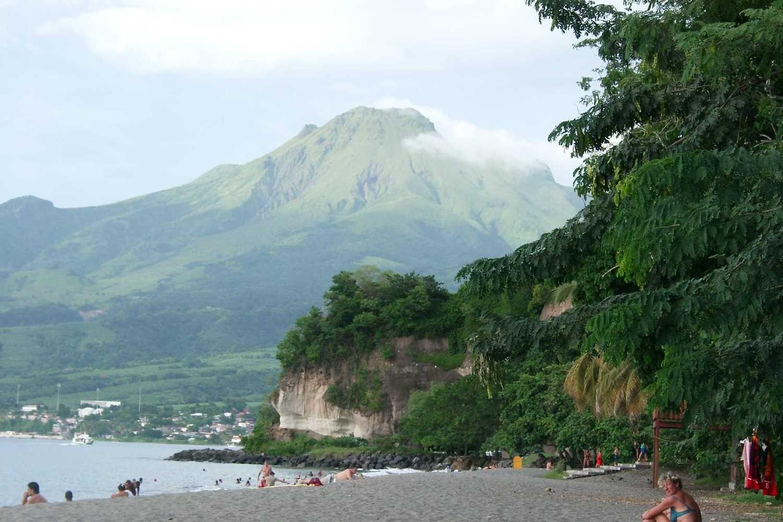 """Iliustruotoji istorija"": ugnikalnio išsiveržimas Martinikoje"