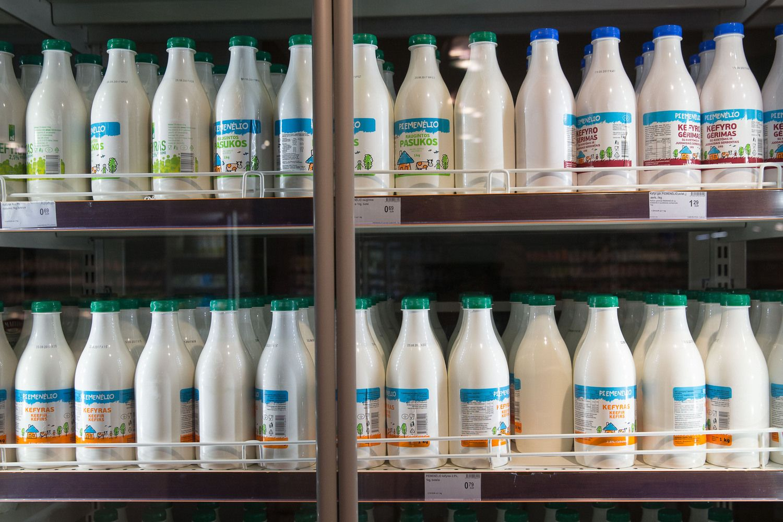 Pieno produktai vis dar brangsta