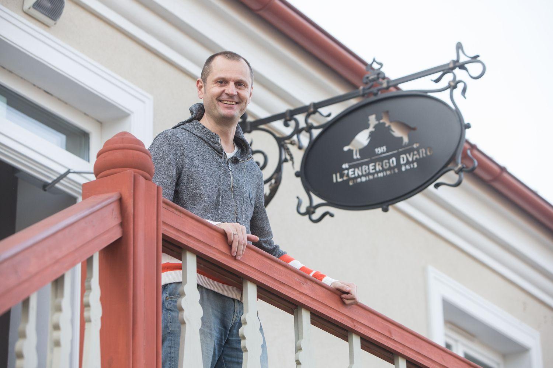 Restauruotas Ilzenbergas – verslininko užmojis gaivinti dvarų kultūrą