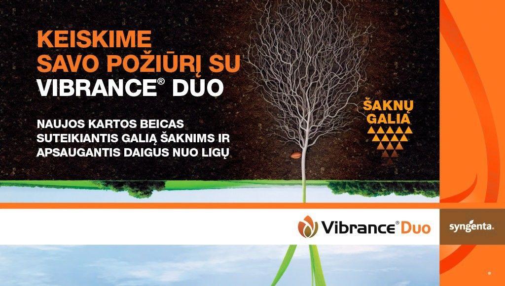 VIBRANCE® DUO - naujas efektyvus beicas žiemkenčiams