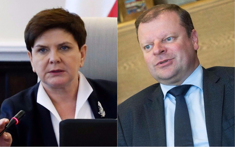 Baltijos šalys su Lenkija bandys pasipriešinti Macronokomandiruočių planui