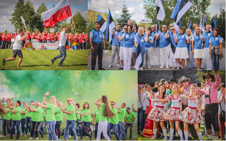 """""""Mūsų vasaros šventė"""": """"Vičiūnų"""" tautų skirtumus nustelbia olimpinė vienybė"""