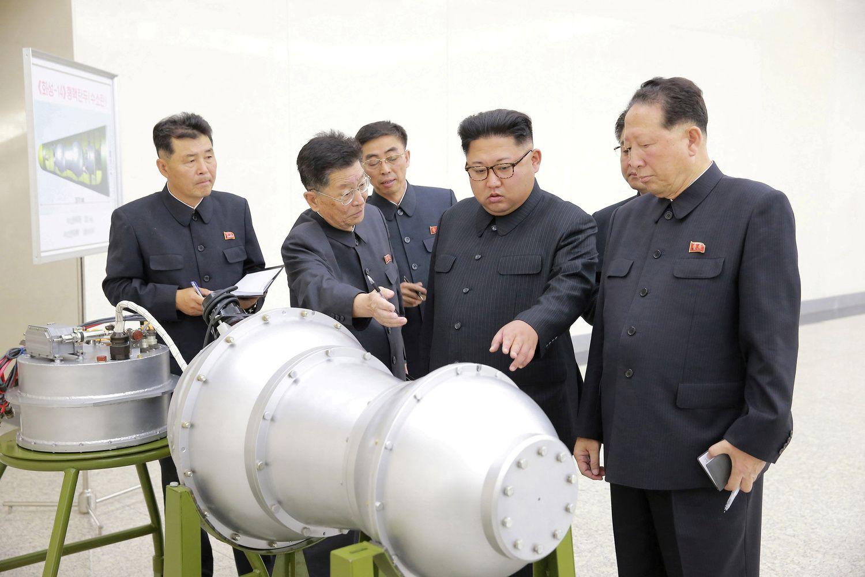 Rusija kritikuoja JAV raginimą griežtinti sankcijas Šiaurės Korėjai
