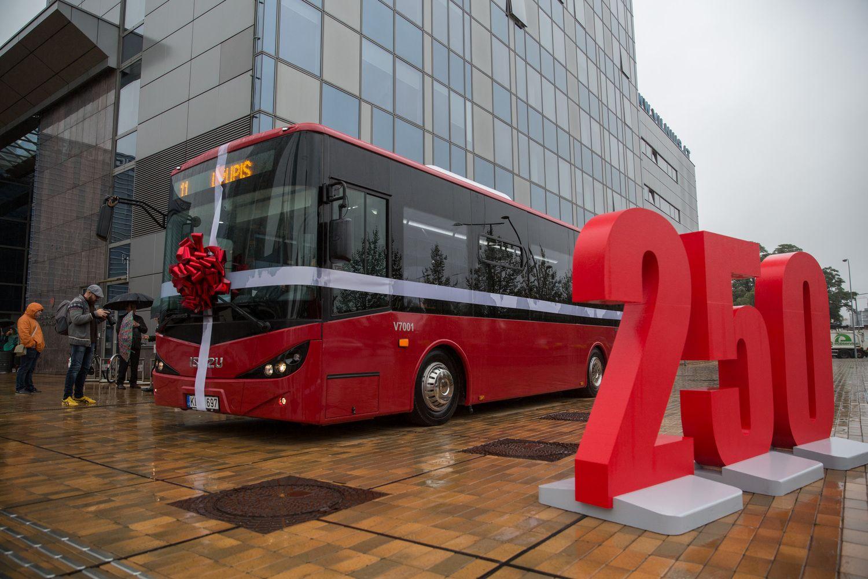 Vilnių pasiekė 50 naujų autobusų