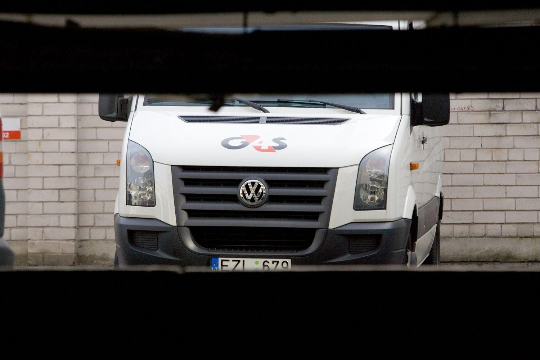 G4S turės sumokėti 3,1 mln. Eur baudą