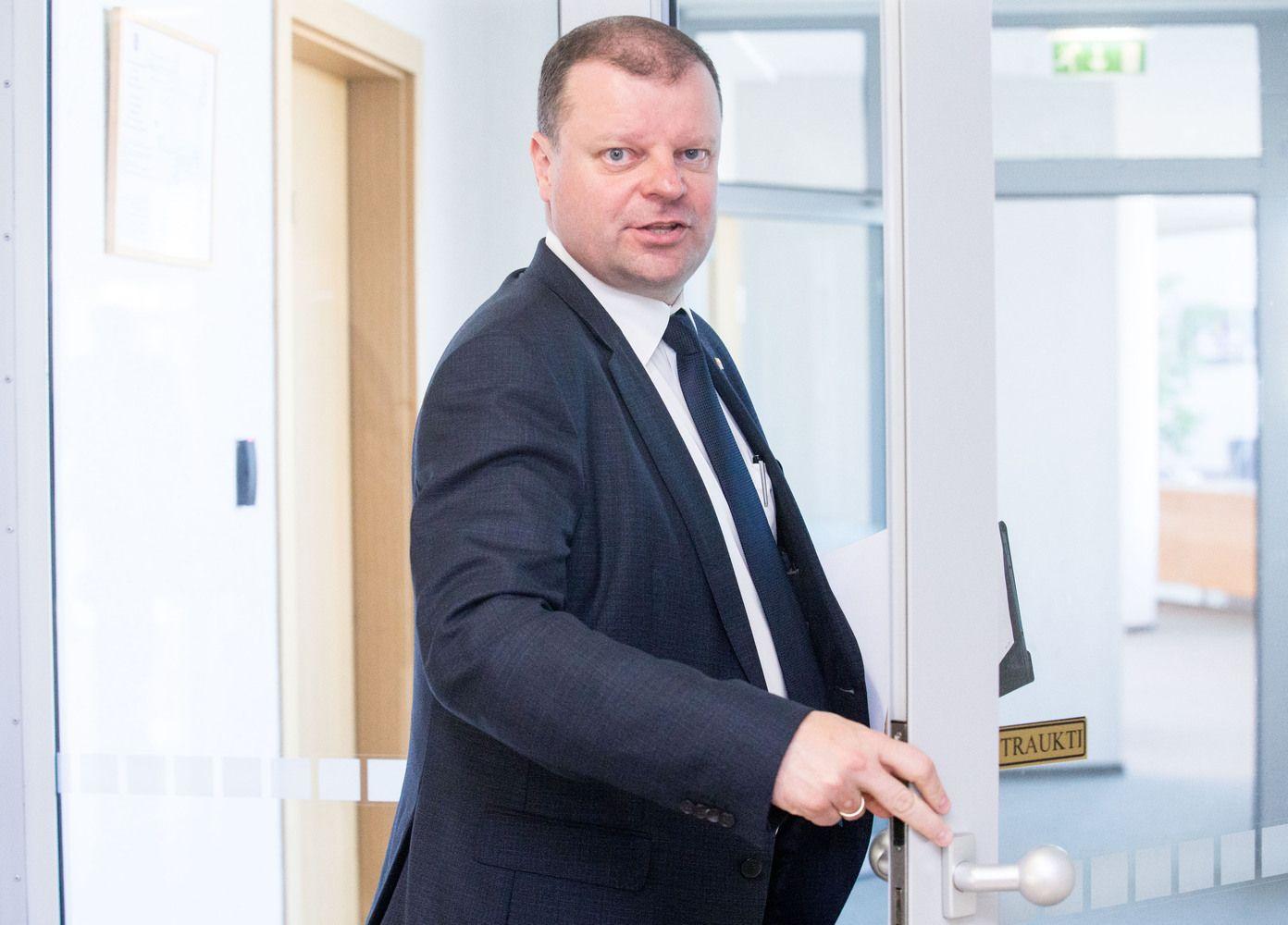 Skvernelis kviečia prekybos tinklą iš Lenkijos