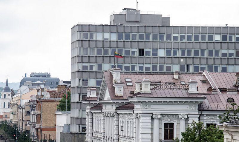 Ūkio ministerijos pastatas. Juditos Grigelytės (VŽ) nuotr.