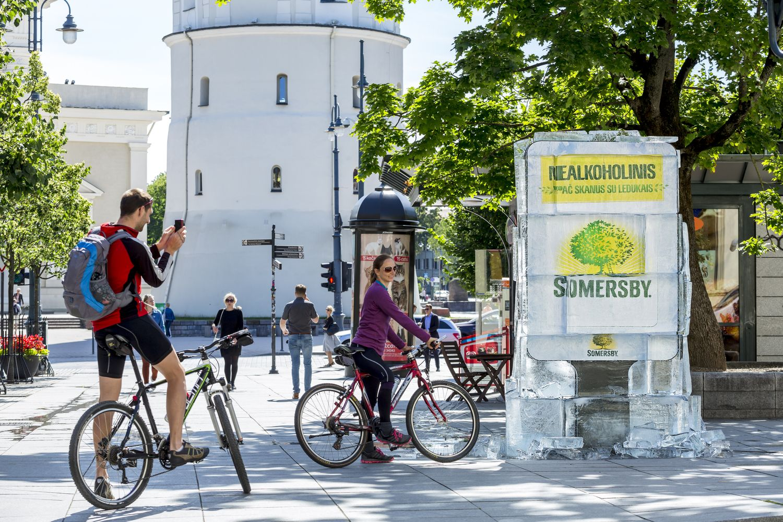 Lauko reklamos inovacijomis vėl lyderiauja Lietuva