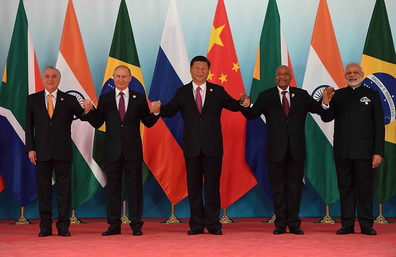 BRICS penketukoambicijas menkina nesutarimai