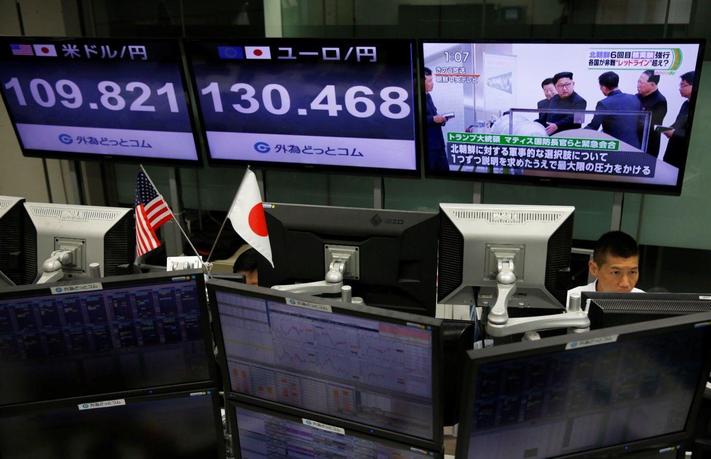 Asian Stocks Fall as North Korea Worries Persist: Markets Wrap