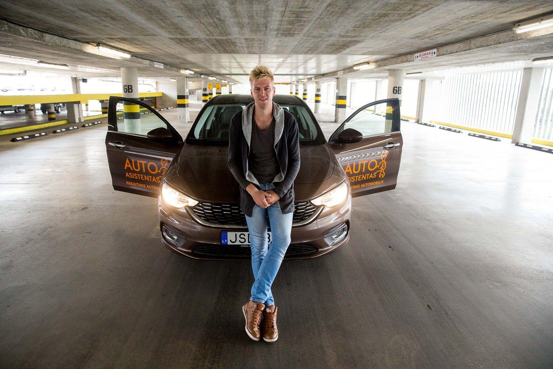 Lietuvis sukūrė automobilio priežiūrosasistentą skubantiems
