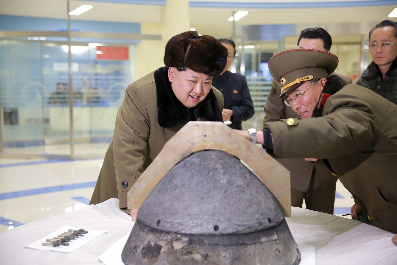 Branduolinė kulminacija Šiaurės Korėjoje