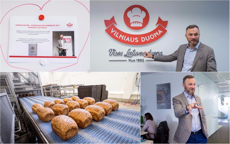 """Diena su """"Vilniaus duonos"""" vadovu – apie vadybos principus, emigracijos poveikį, ambicijas"""